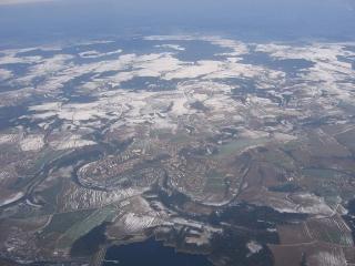 Elegantní zákruty Sázavy ve Zruči nad Sázavou