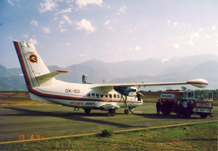 OK-XDI v barvách Archana Airways
