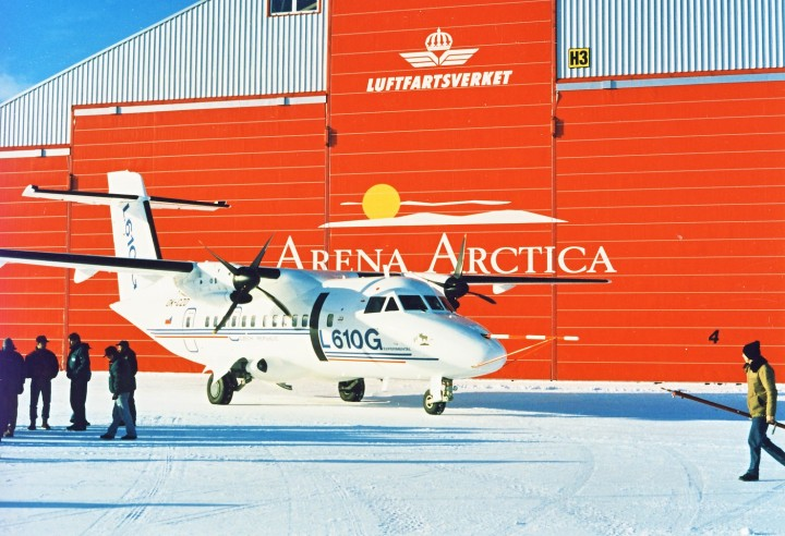 Zkoušky za polárním kruhem - Kiruna, Švédsko