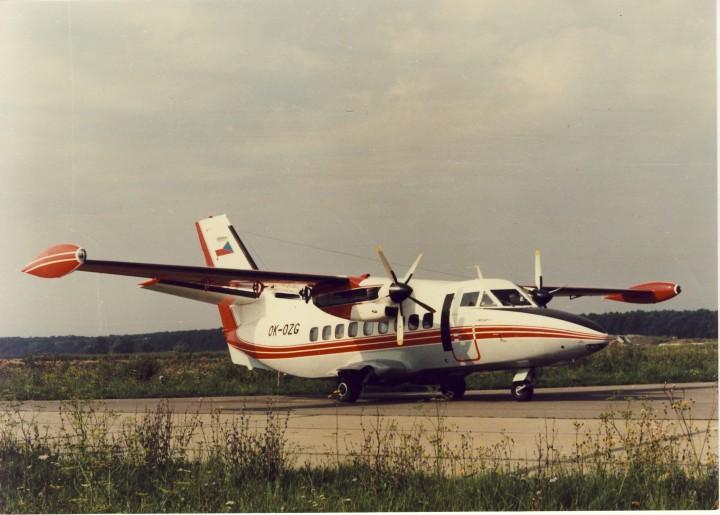 Fiktivní L-410UVP-E pro Paris Air Show
